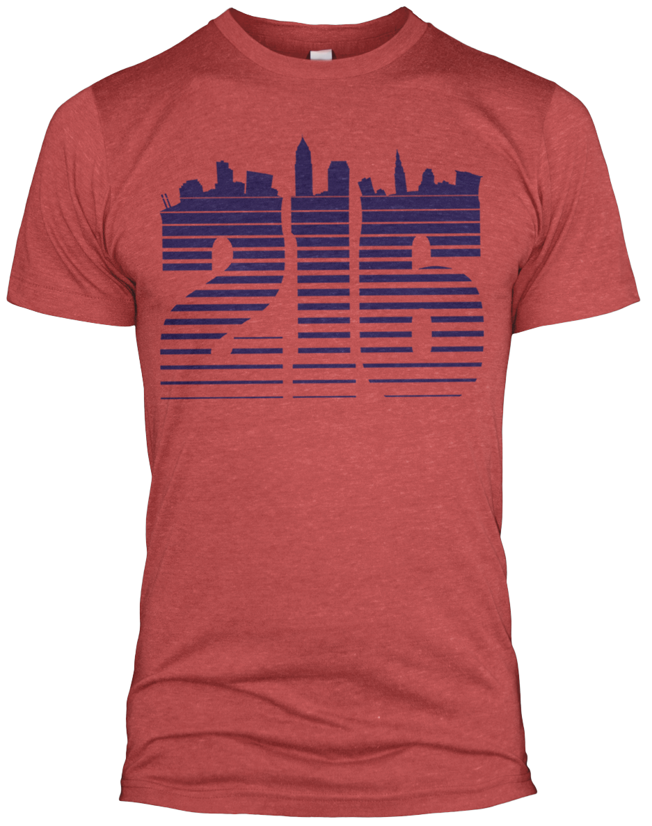 Image of 216 Tri-Blend Shirt Red