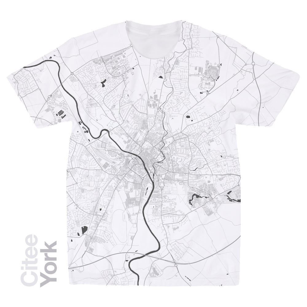 Image of York map t-shirt