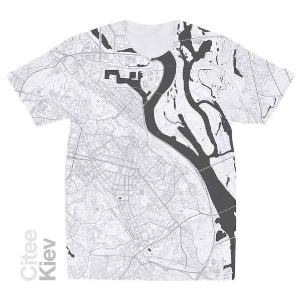 Image of Kiev map t-shirt