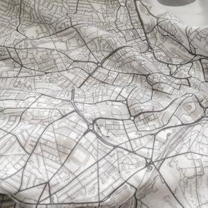 Image of Prague map t-shirt
