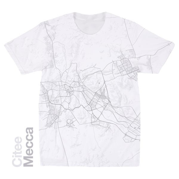 Image of Mecca map t-shirt
