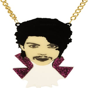 Image of Prince Purple Rain Necklace