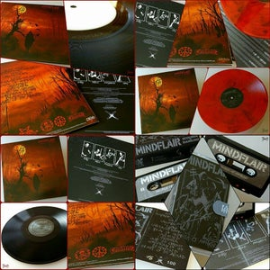 "Image of MINDFLAIR ""scourge of mankind"" LP / CD"