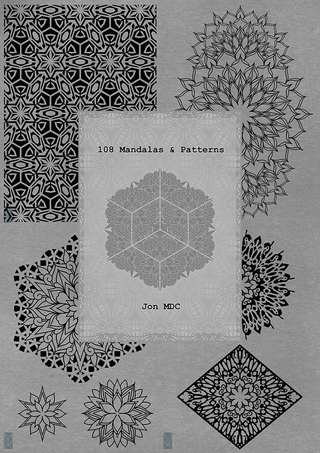 Image of 108 Mandalas & Patterns