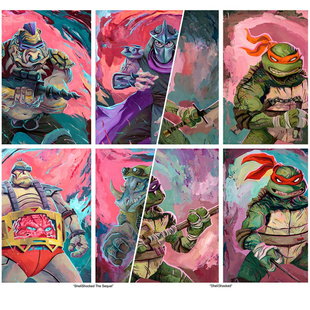 Image of TMNT SET