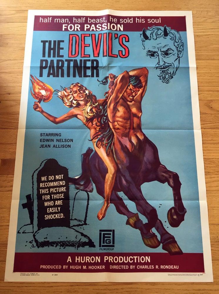 Image of 1961 THE DEVIL'S PARTNER Original U.S. One Sheet Movie Poster