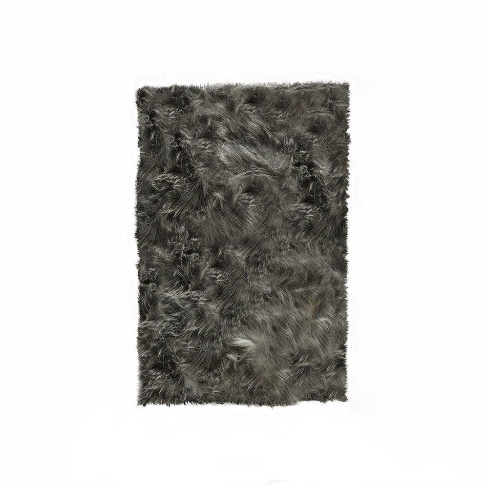 Image of Hudson Gray Faux Sheepskin
