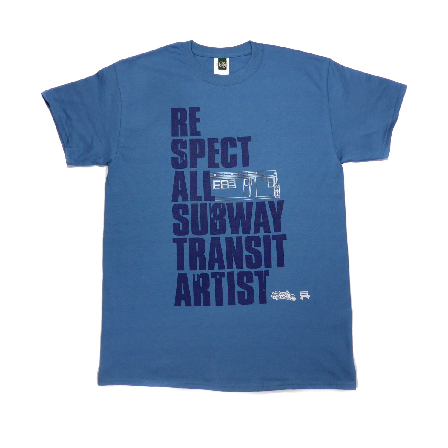 Image of Respect All Subway Transit Artists T-shirt