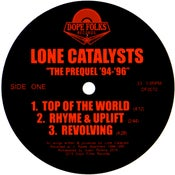 """Image of LONE CATALYSTS """"THE PREQUEL"""" PRE-ORDER"""