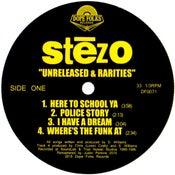 """Image of STEZO """"UNRELEASED & RARITIES"""""""