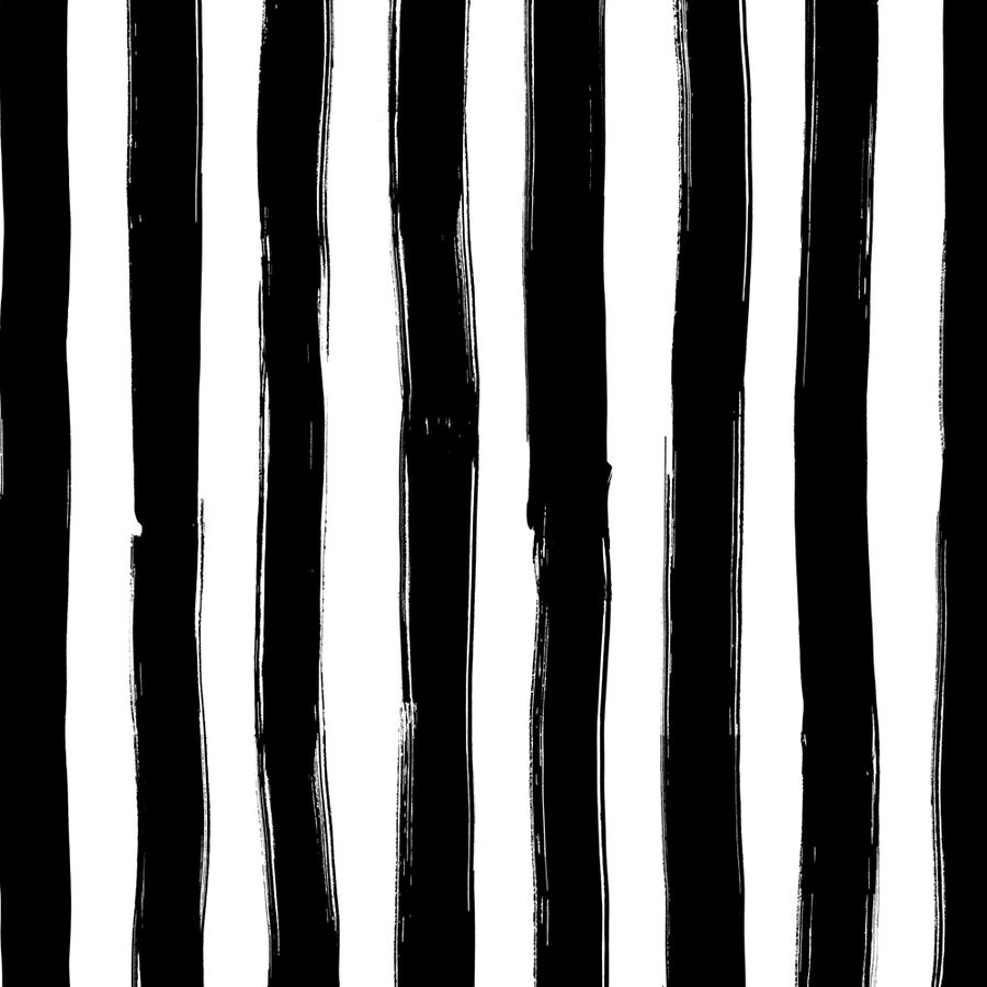Image of Wide Stripes in black