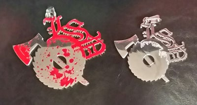 Image of LSP XL CHARM W/BLOOD SPLATTER