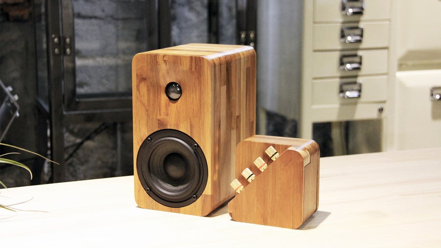 Image of Repop amplifier + 16passive speakers (a pair)