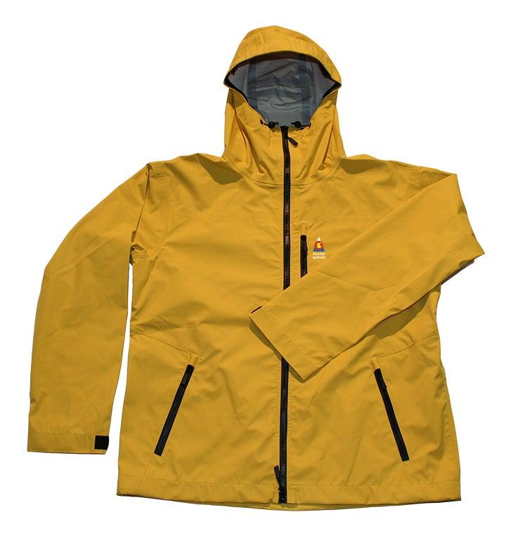 Image of Antero 3 Polartec Neoshell Hardshell Laminate Ski Jacket Canary Yellow