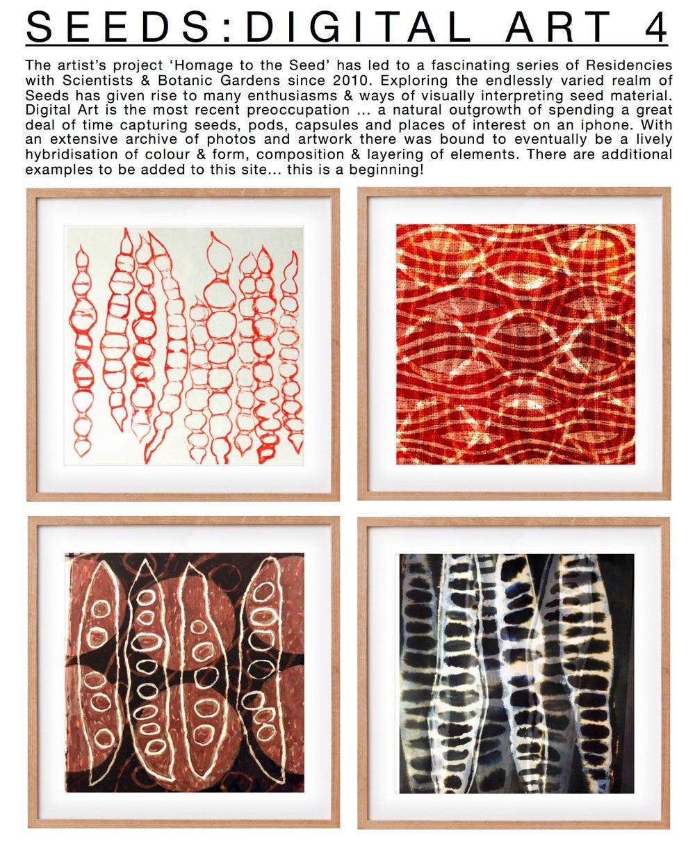 Image of NEW Digital Art Prints: Seed Rhythms 4