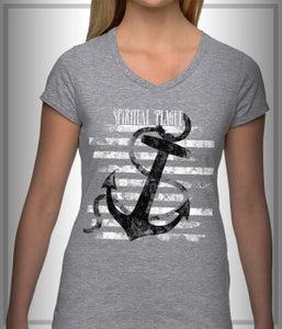 """Image of """"Anchor"""" T-Shirt Gray"""