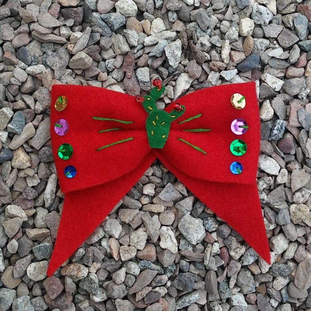 Image of Sequined Senorita Bow