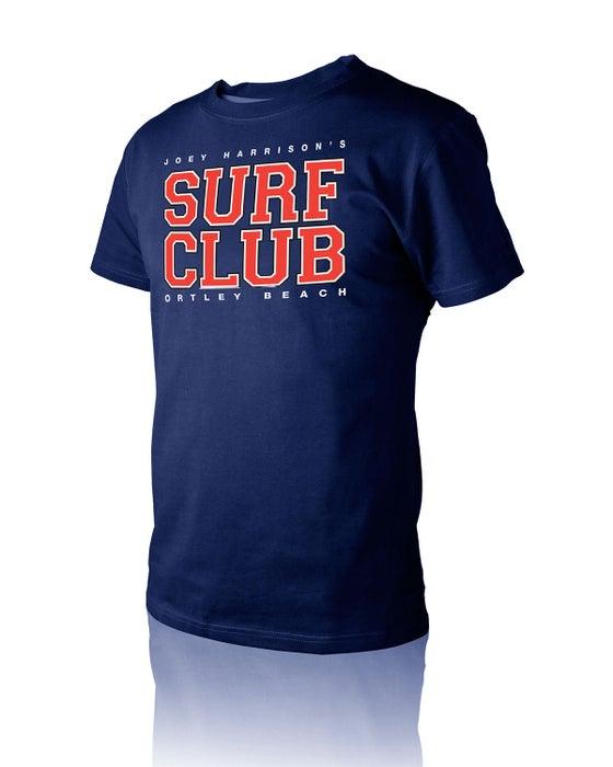 "Image of Men's ""Property Of"" T-Shirt Navy Blue"