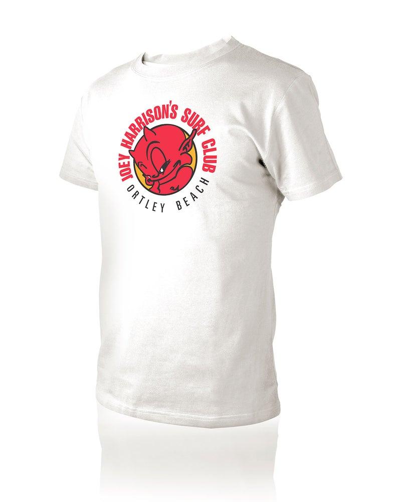 """Image of Men's """"Devil"""" T-Shirt White"""