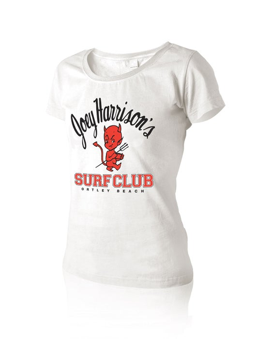 Image of Women's Traditional Baby Doll Tee White