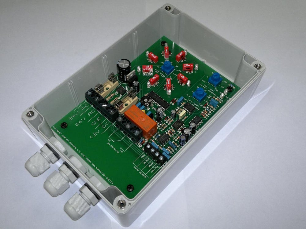 Image of Low voltage Wind activated switch