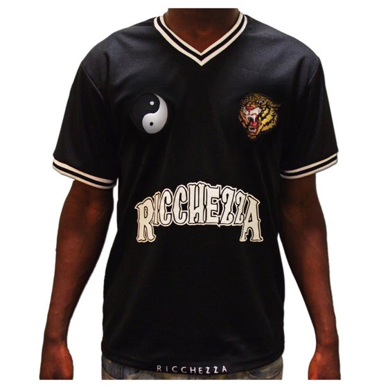 Image of Premium Wealth and Royalty Jersey (Black/White)