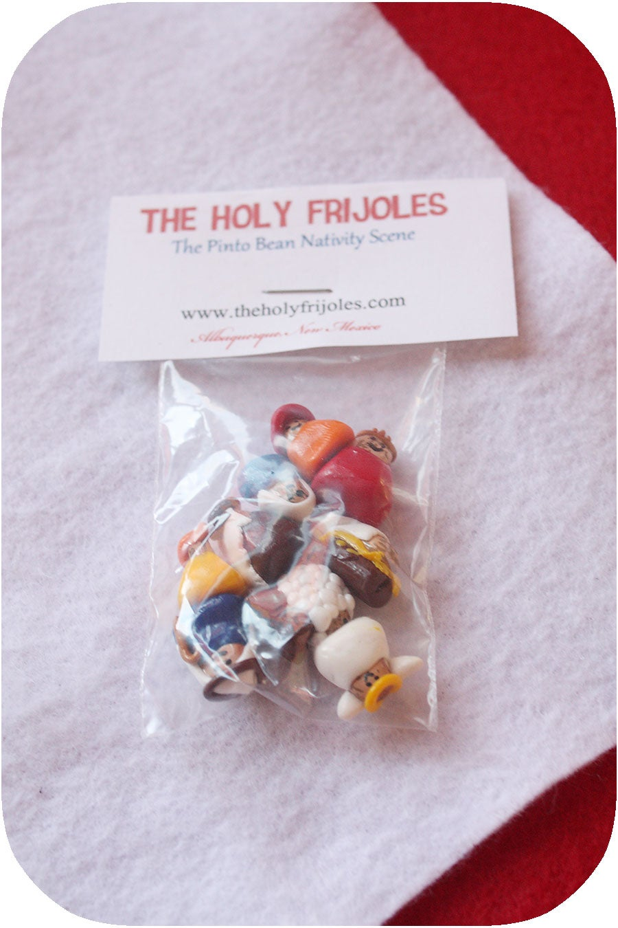 Image of WHOLESALE 20 sets of The Holy Frijoles™ The Pinto Bean Nativity Scene™