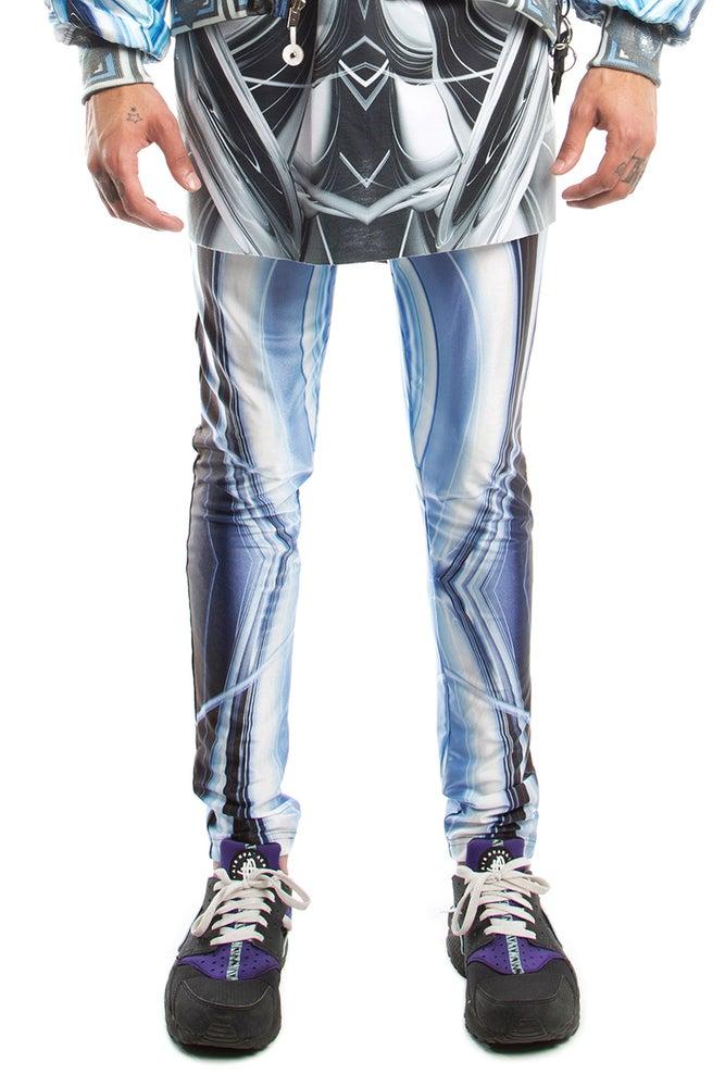 Image of Spandex Leggings With Full T1000 Digital Print