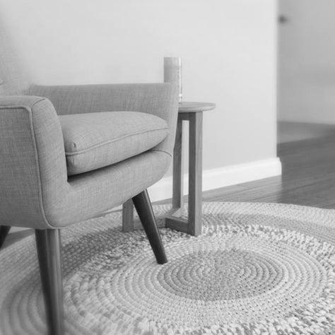 Image of Custom Crochet Floor Rug Multi