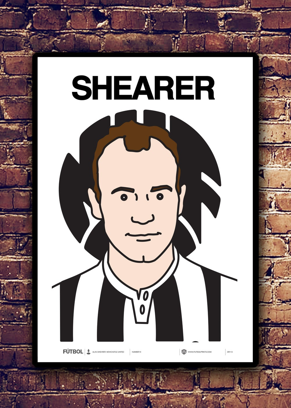 Image of ALAN SHEARER - NEWCASTLE UNITED