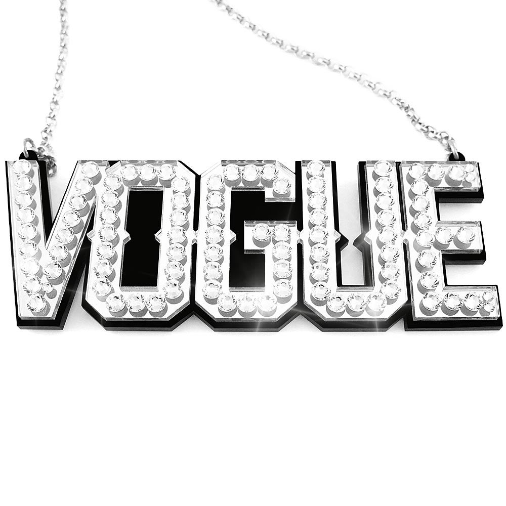 Image of CRYSTAL VOGUE Necklace
