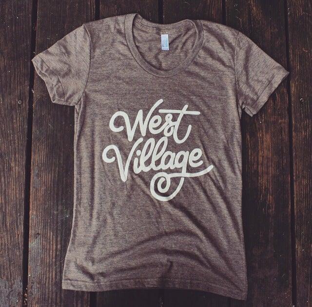 Image of West Village (Women's tee)