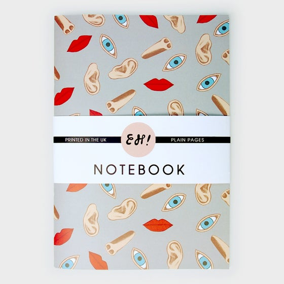 Image of Face Up! Notebooks