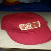 Image of Alaska Love Since 1959 Military Hat- Cranberry