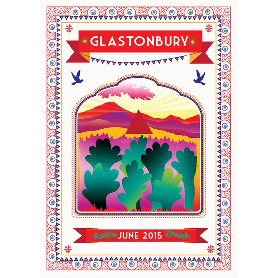 Image of Limited Edition Glastonbury Paradise 2015