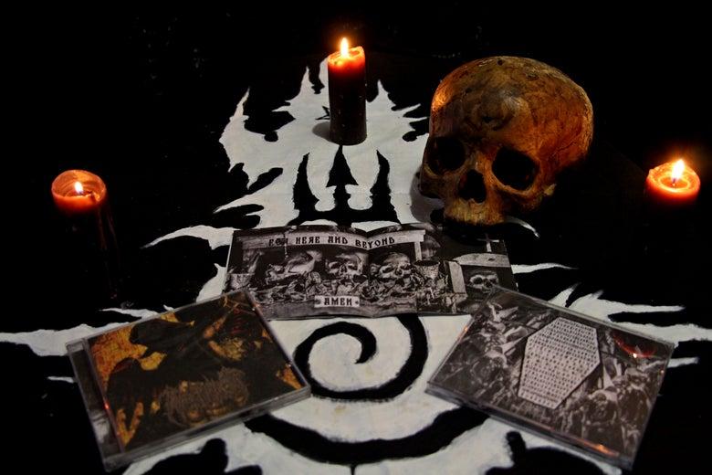 "Image of PSEUDOGOD ""Sepulchral Chants"" CD"