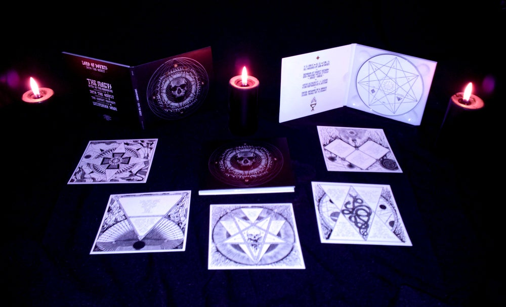 """Image of LORD OF DOUBTS """"Into The Occult"""" digi-CD"""