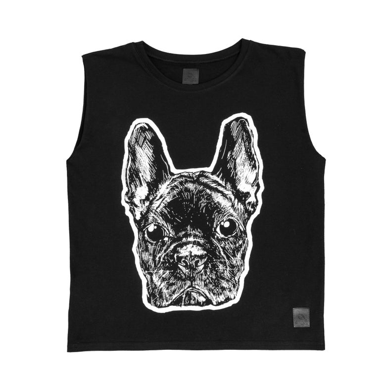 Image of FRENCH BULLDOG top