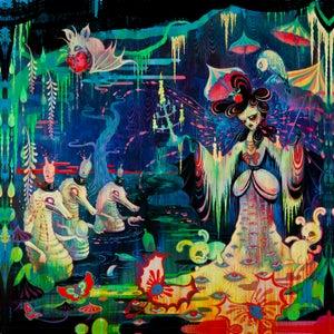 """Image of """"Nocht Lucere Lacuna"""" mini print"""