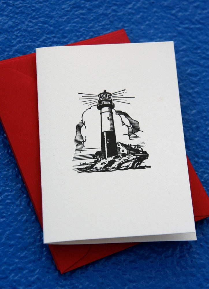 Image of Lighthouse notelets (set of 6)