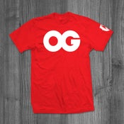 Image of OG RED WHITE TEE