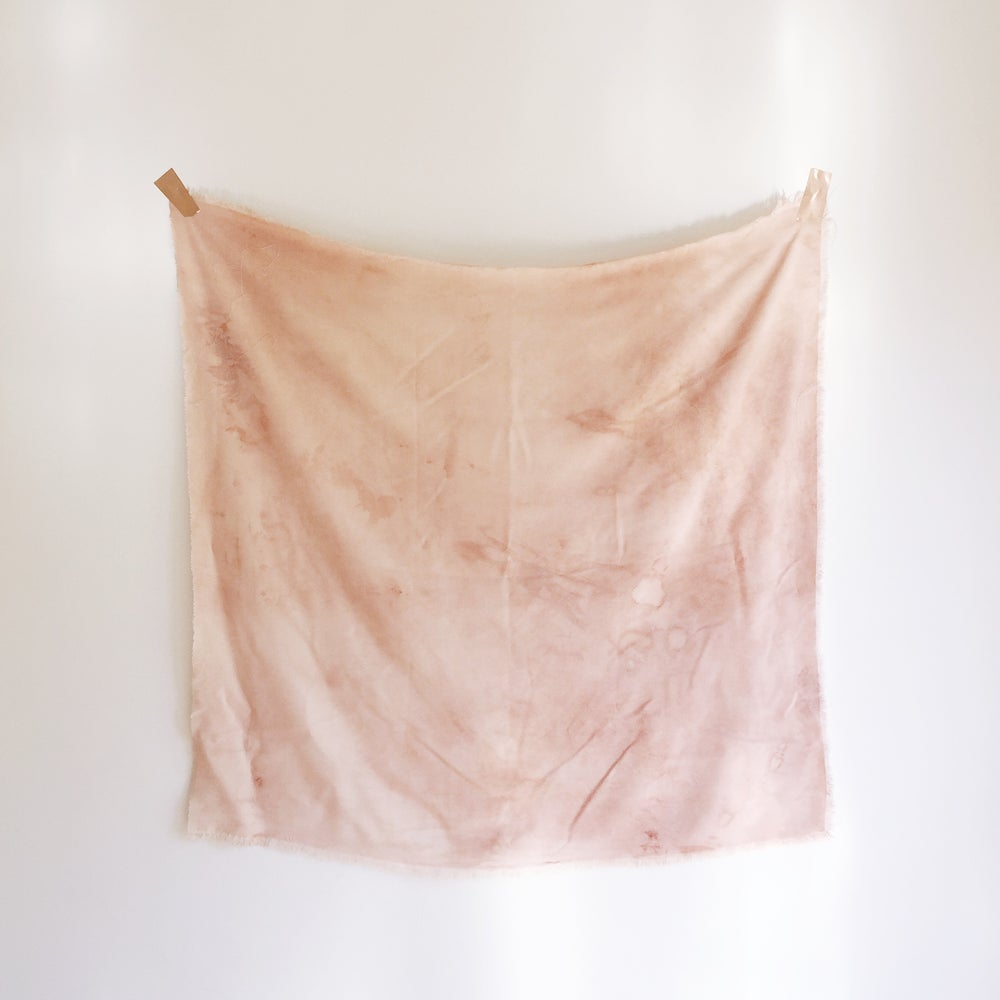 Image of Desert Clay Naturally Dyed Scarf