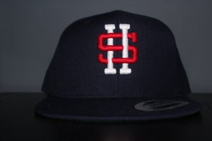 Image of SKNDLS HOUSTON SNAPBACK -NAVY