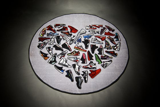 Image of Sneaker Love Rug