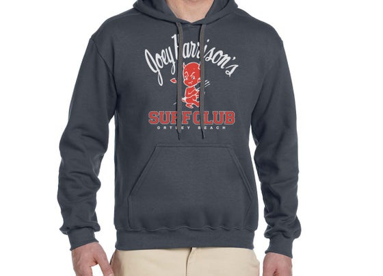 Image of Unisex Hooded Sweatshirt Charcoal Gray