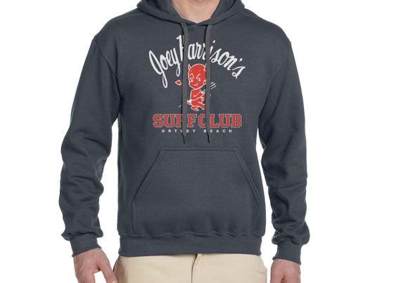 Image of Unisex Hooded Sweatshirt Charcoal Gray