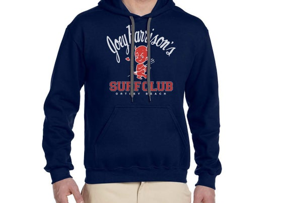 Image of Unisex Hooded Sweatshirt Navy