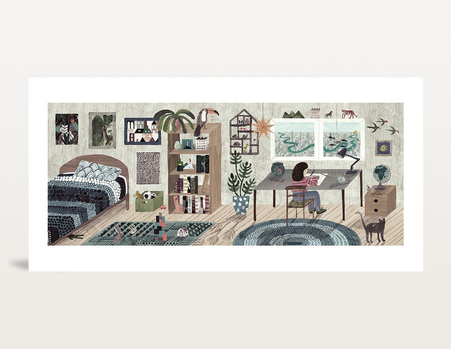 Image of Bedroom by day