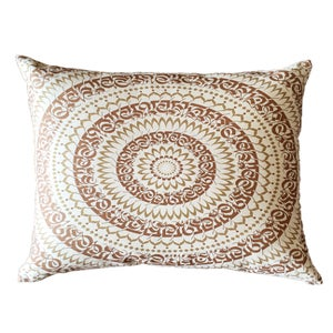 Image of DECORATIVE PILLOW | Copper & Gold Mantradala