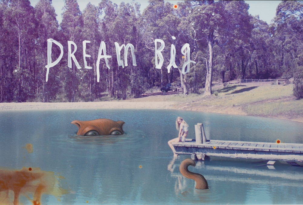 Image of limited edition 'dream big' print